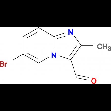 6-Bromo-2-methyl-imidazo[1,2-a]pyridine-3-carbaldehyde