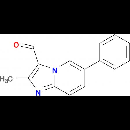 2-Methyl-6-phenyl-imidazo[1,2-a]pyridine-3-carbaldehyde