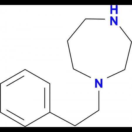 1-(2-Phenylethyl)homopiperazine