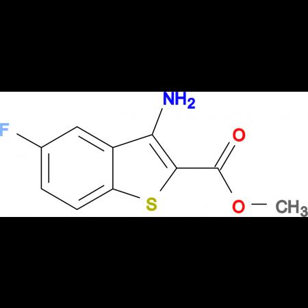 Methyl 3-amino-5-fluoro-benzo[b]thiophene-2-carboxylate