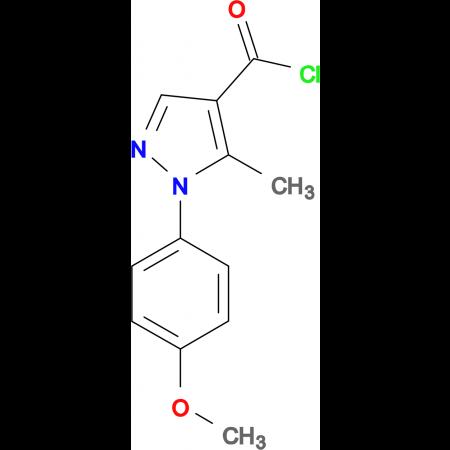1-(4-Methoxy-phenyl)-5-methyl-1H-pyrazole-4-carbonyl chloride