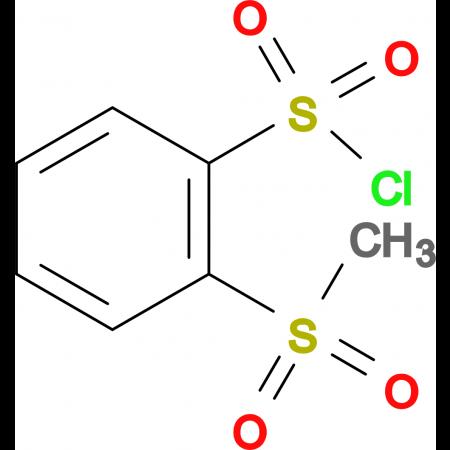 2-(Methylsulfonyl)benzenesulfonyl chloride