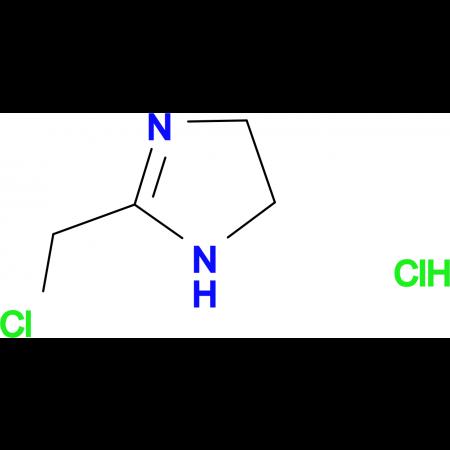 2-(Chloromethyl)-4,5-dihydro-1H-imidazole hydrochloride