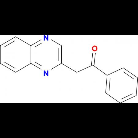 1-Phenyl-2-quinoxalin-2-ylethanone