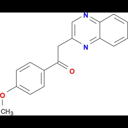1-(4-Methoxyphenyl)-2-quinoxalin-2-ylethanone