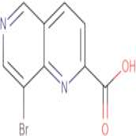 8-Bromo-1,6-naphthyridine-2-carboxylic acid
