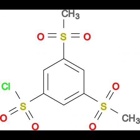 3,5-Bis(methylsulfonyl)benzenesulfonyl chloride