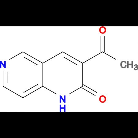 3-Acetyl-1,6-naphthyridin-2(1H)-one