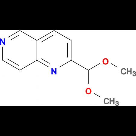 2-(Dimethoxymethyl)-1,6-naphthyridine
