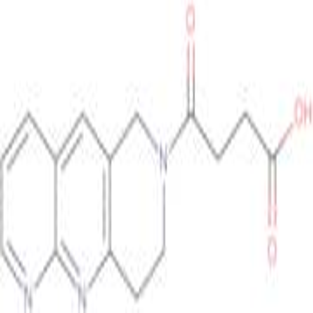 4-(8,9-Dihydropyrido[2,3-b]-1,6-naphthyridin-7(6H)-yl)-4-oxobutanoic acid
