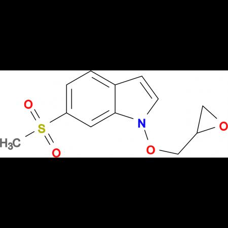 6-(Methylsulfonyl)-1-(oxiran-2-ylmethoxy)-1H-indole