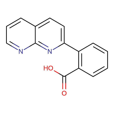 2-(1,8-Naphthyridin-2-yl)benzoic acid