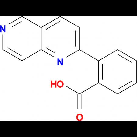 2-(1,6-Naphthyridin-2-yl)benzoic acid