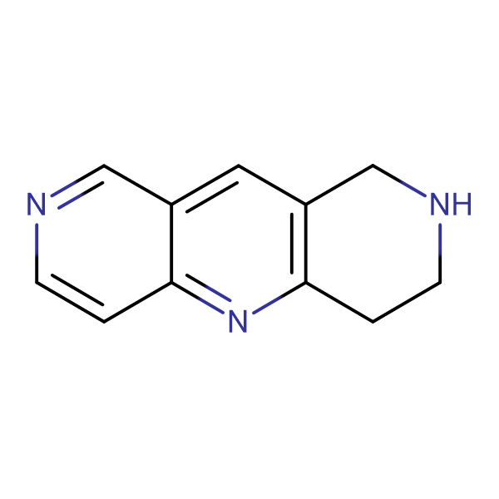 1,2,3,4-Tetrahydropyrido[4,3-b]-[1,6]naphthyridine