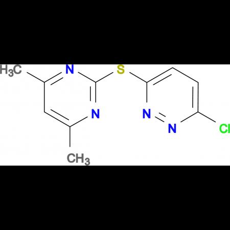 3-Chloro-6-[(4,6-dimethylpyrimidin-2-yl)thio]pyridazine