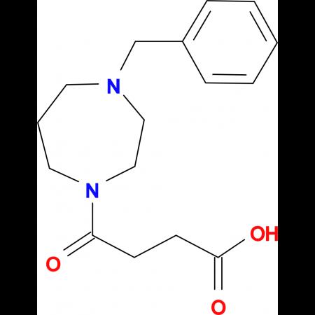 4-(4-Benzyl-1,4-diazepan-1-yl)-4-oxobutanoic acid