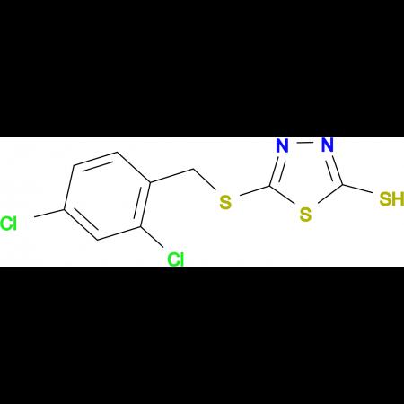 5-(2,4-Dichlorobenzylthio)-2-mercapto-1,3,4-thiadiazole