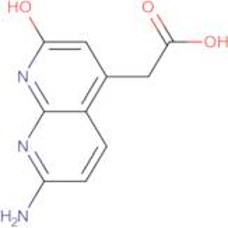 2-(7-Amino-2-hydroxy[1,8]naphthyridin-4-yl)-acetic acid