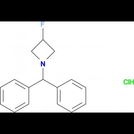 1-Benzhydryl-3-fluoro-azetidine hydrochloride
