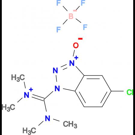 1-(Bis-dimethylamino-methylene)-5-chloro-3-oxy-1H-benzotriazol-1-ium tetrafluoroborate