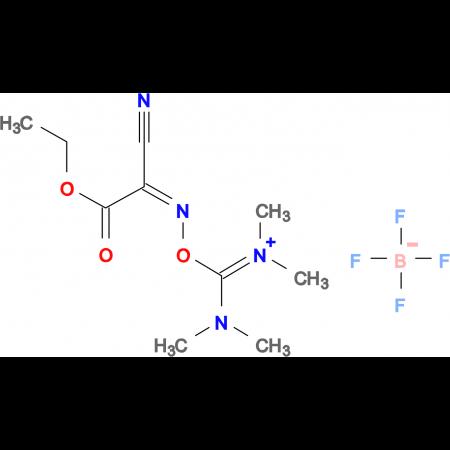 O-(Cyano(ethoxycarbonyl)methylenamino)-1,1,3,3-tetramethyluronium tetrafluoroborate