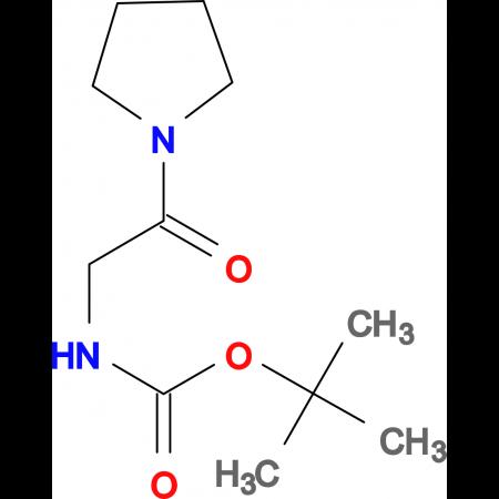 (2-Pyrrolidin-1-yl-2-oxo-ethyl)-carbamic acidtert-butyl ester