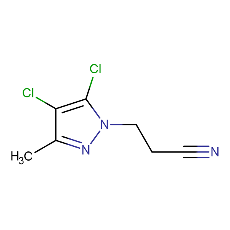 3-(4,5-Dichloro-3-methyl-pyrazol-1-yl)-propionitrile