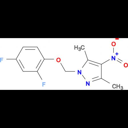 1-(2,4-Difluoro-phenoxymethyl)-3,5-dimethyl-4-nitro-1H-pyrazole
