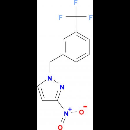 3-Nitro-1-(3-trifluoromethyl-benzyl)-1H-pyrazole
