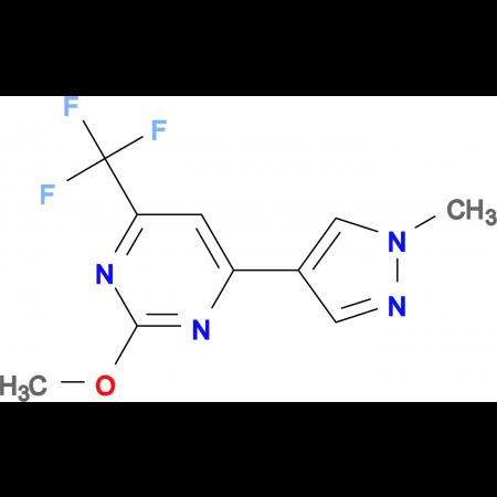 2-Methoxy-4-(1-methyl-1H-pyrazol-4-yl)-6-trifluoromethyl-pyrimidine