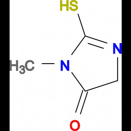 2-Mercapto-3-methyl-3,5-dihydro-imidazol-4-one