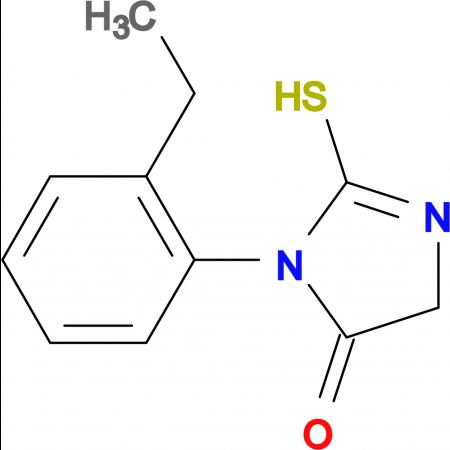 3-(2-Ethyl-phenyl)-2-mercapto-3,5-dihydro-imidazol-4-one