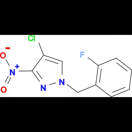 4-Chloro-1-(2-fluoro-benzyl)-3-nitro-1H-pyrazole