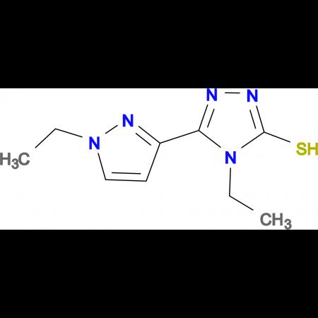 4-Ethyl-5-(1-ethyl-1H-pyrazol-3-yl)-4H-[1,2,4]-triazole-3-thiol