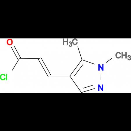 3-(1,5-Dimethyl-1H-pyrazol-4-yl)-acryloylchloride