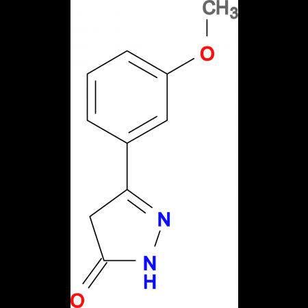 5-(3-Methoxy-phenyl)-2,4-dihydro-pyrazol-3-one