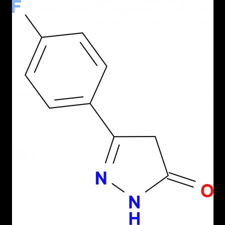 5-(4-Fluoro-phenyl)-2,4-dihydro-pyrazol-3-one