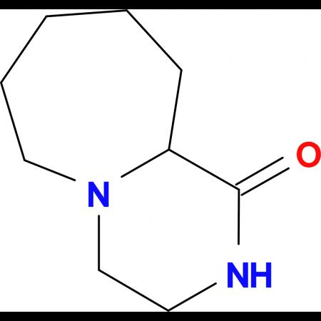Octahydro-pyrazino[1,2-a]azepin-1-one