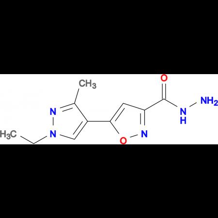5-(1-Ethyl-3-methyl-1 H -pyrazol-4-yl)-isoxazole-3-carboxylic acid hydrazide