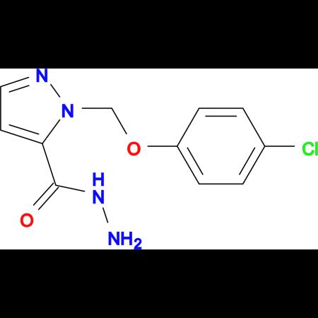 2-(4-Chloro-phenoxymethyl)-2 H -pyrazole-3-carboxylic acid hydrazide