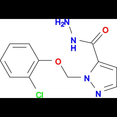2-(2-Chloro-phenoxymethyl)-2 H -pyrazole-3-carboxylic acid hydrazide