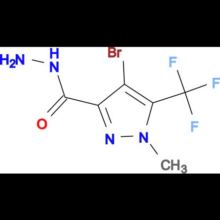 4-Bromo-1-methyl-5-trifluoromethyl-1 H -pyrazole-3-carboxylic acid hydrazide