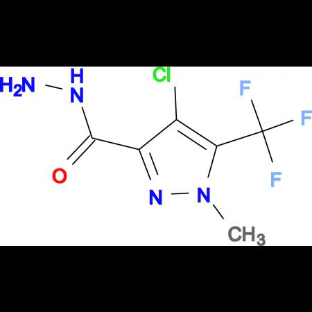 4-Chloro-1-methyl-5-trifluoromethyl-1 H -pyrazole-3-carboxylic acid hydrazide