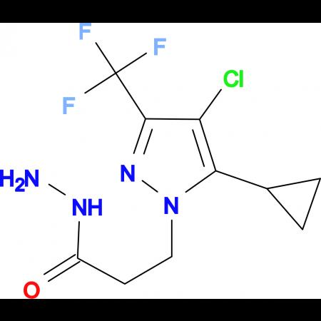 3-[4-Chloro-5-cyclopropyl-3-(trifluoromethyl)-1H-pyrazol-1-yl]propionic hydrazide