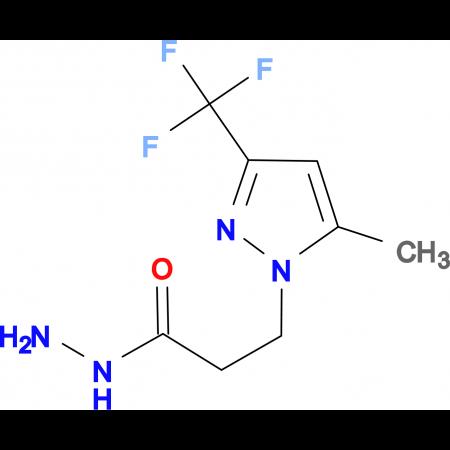 3-(5-Methyl-3-trifluoromethyl-pyrazol-1-yl)-propionic acid hydrazide