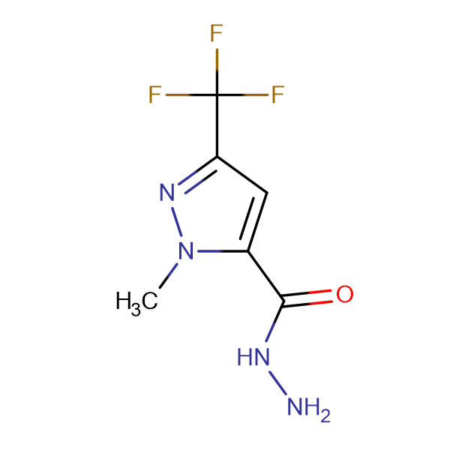 1-Methyl-3-(trifluoromethyl)-1H-pyrazole-5-carbohydrazide