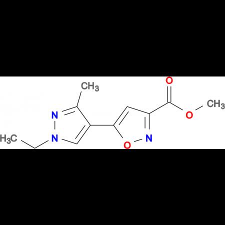 5-(1-Ethyl-3-methyl-1 H -pyrazol-4-yl)-isoxazole-3-carboxylic acid methyl ester