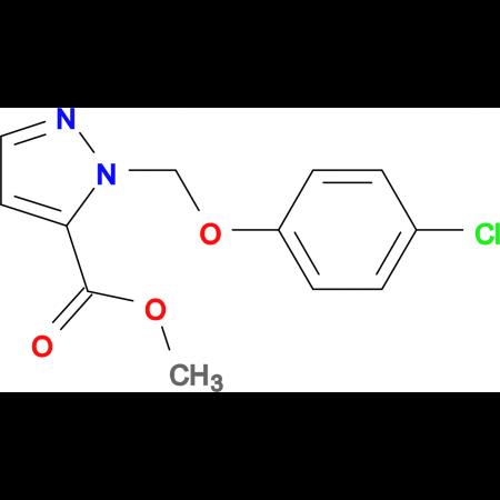 2-(4-Chloro-phenoxymethyl)-2 H -pyrazole-3-carboxylic acid methyl ester