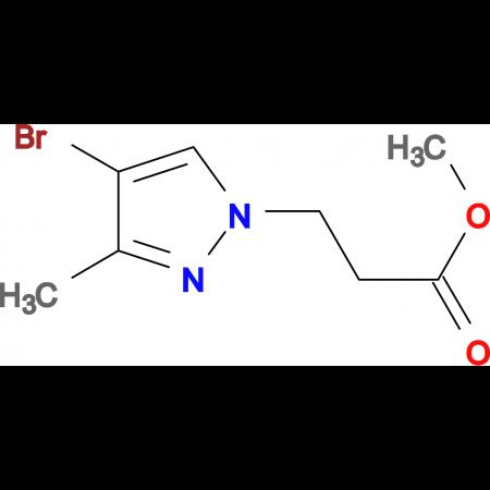 3-(4-Bromo-3-methyl-pyrazol-1-yl)-propionic acid methyl ester