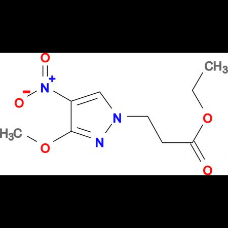 3-(3-Methoxy-4-nitro-pyrazol-1-yl)-propionic acidethyl ester